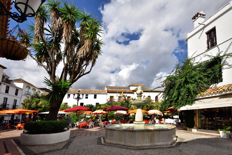 Appelsintorget i Marbella